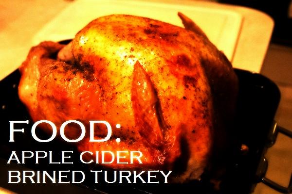 Food Cary | Recipe: Apple Cider Brined Turkey