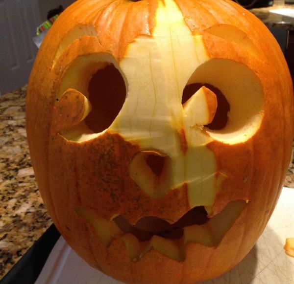 Peel your pumpkin