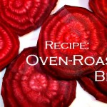 oven-roasted beets