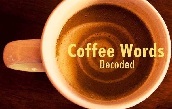 Coffee Words