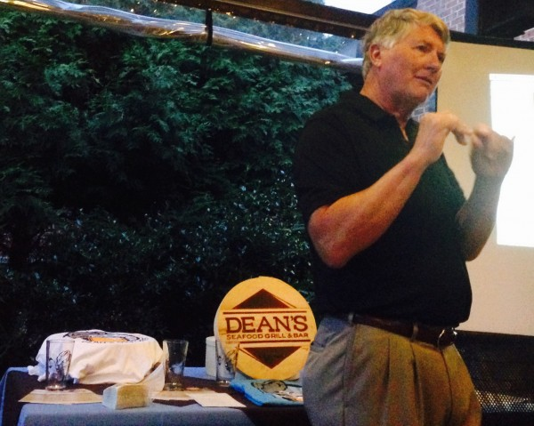 Allen Aldridge of Jarrett Bay Oyster Co talks about his farm