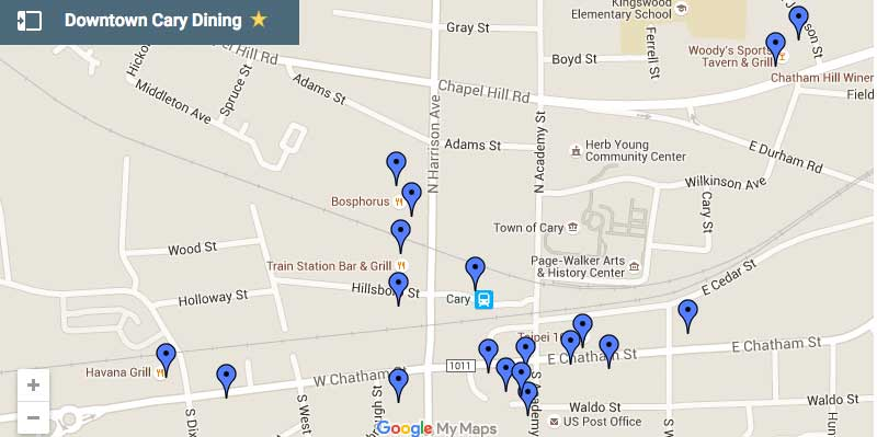 downtown-cary-dining-map