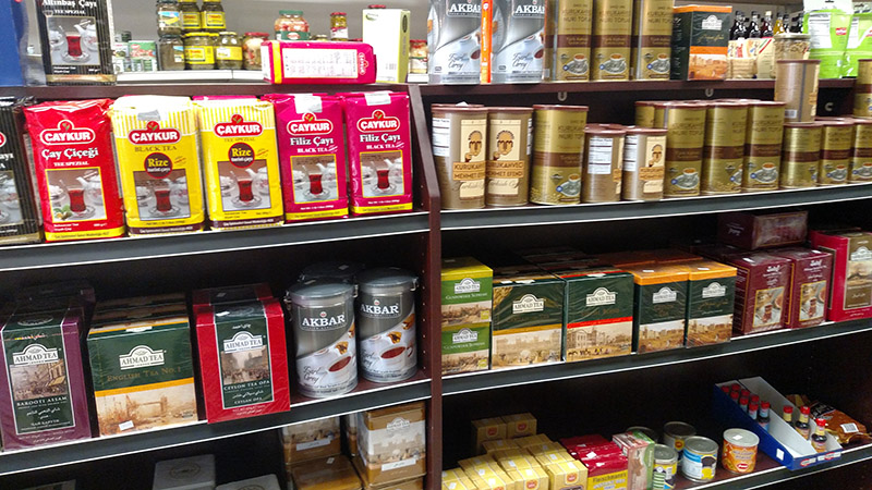 Coffees and teas from around the world at A&S Harmony International Market.